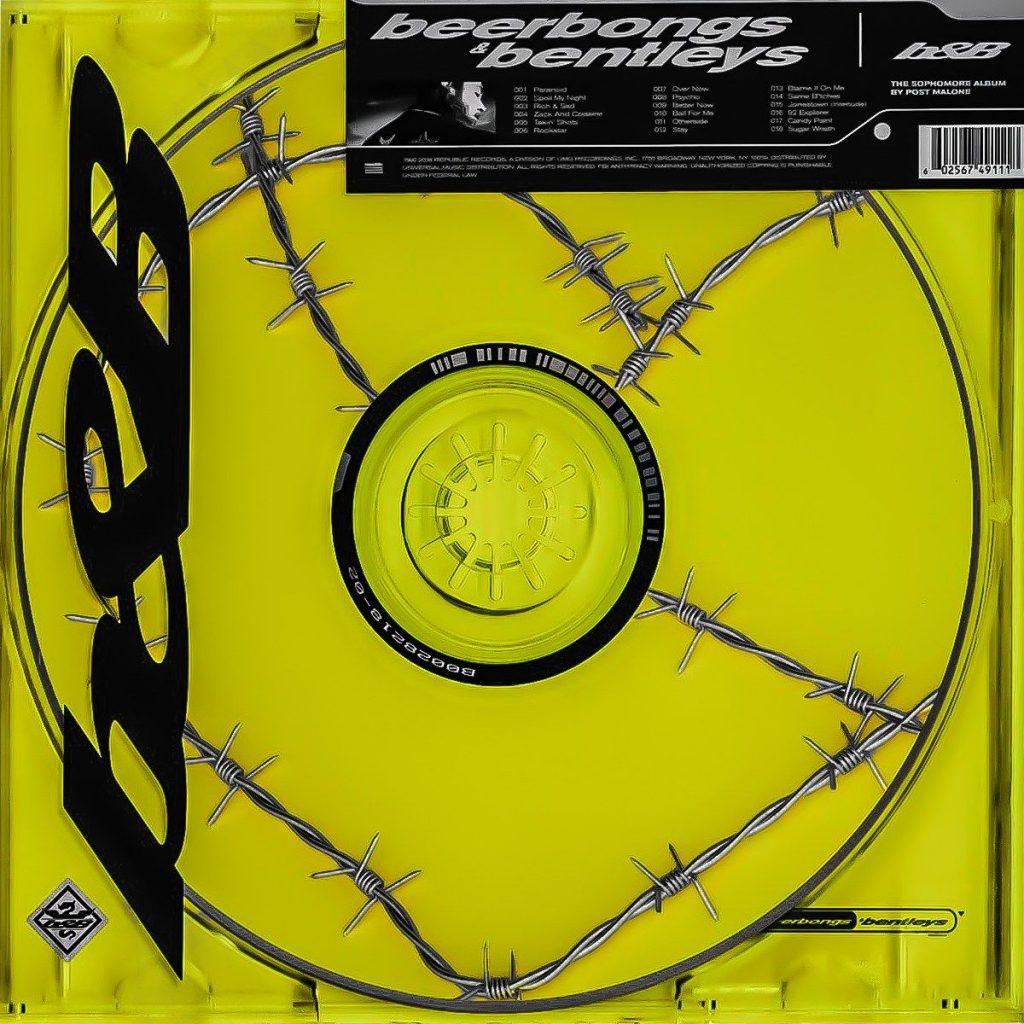 beerbongs & bentleysのアルバムジャケット